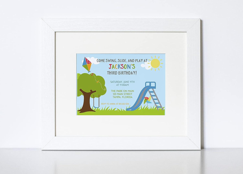 Children/'s Invitations Party Invitations Kids Party LEAP Video Invitation Baby Shower Invitation Invitations