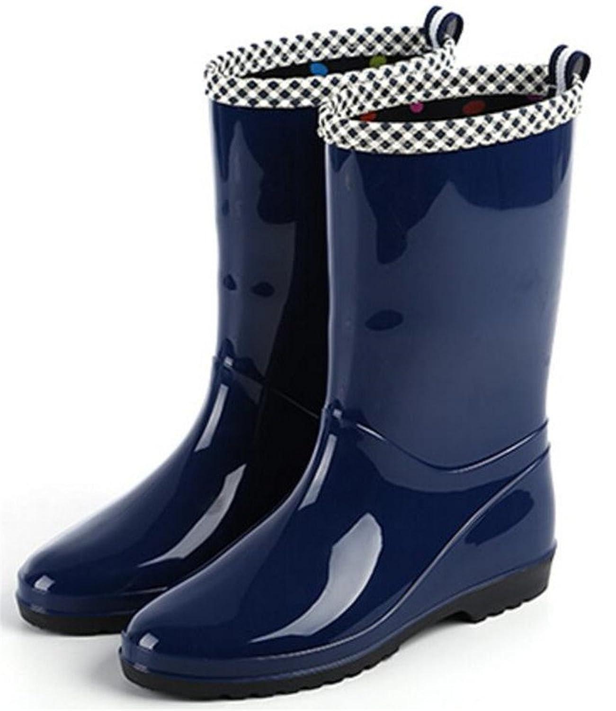 Adult Women's Antiskid Rubber Shoes Rain Boots