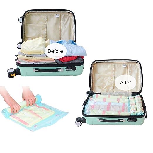 7 opinioni per 10 sacchetti salvaspazio, per la compressione, la conservazione e l'imballaggio