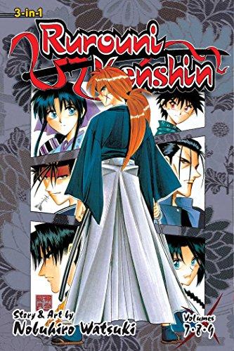 Rurouni Kenshin (3-in-1 Edition), Vol. 3: Includes Vols. 7, 8 & 9