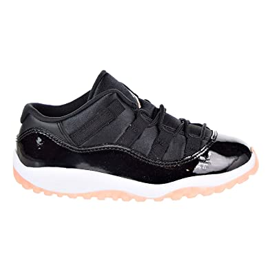 37d790af3f53af Jordan 11 Retro Low Toddlers  Shoes Black Bleached Coral-White 645107-013