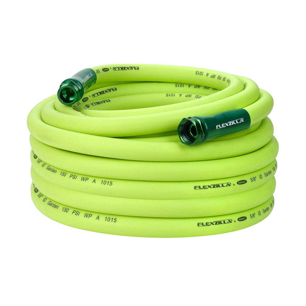 Flexzilla Garden Hose, 5/8 in. x 75 ft, Heavy Duty, Lightweight, Drinking Water Safe - HFZG575YW