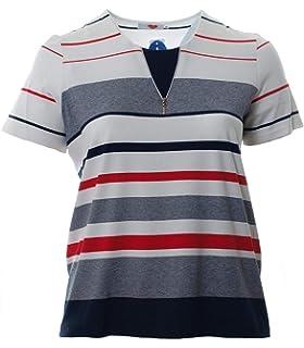 Karin Hertz Damen T-Shirt mit Paisley-Muster Bunt auch große Größen