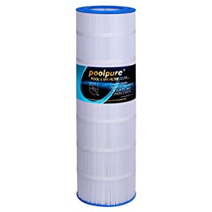POOLPURE Pool Filter Replaces Pleatco PAP150, PAP150-4, Unicel C-9415, Filbur FC-0687, R173216, 59054300, Pentair Clean & Clear 150, CC150, Predator 150, 150 sq. ft. Filter Cartridge (1 Pack)