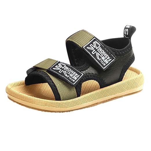 89602c11c7f5ad Amazon.com  Teen Toddler Baby Boys Classic Open-Toe Beach Sandals ...