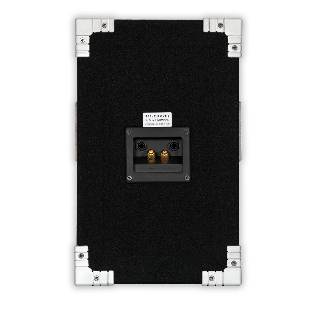 Acoustic Audio GX-400 PA Karaoke DJ Speakers 1200 Watts 2 Way Pair New with Stands GX-400-PK2