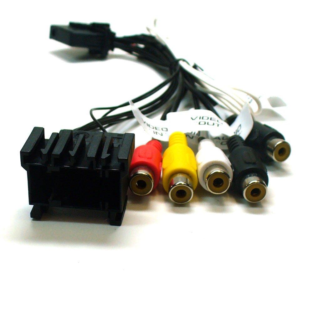 5er-Serie Multimedia Adapterkabel f/ür BMW mit NaviPro /& VDO TV-Tuner f/ür 3er-Serie X5 /& Z4 X3 16:9
