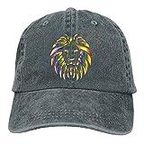 Rainbow Lion Womens Men' Fashion New Cowboy Hip Hop Adjustable Hat For Gift