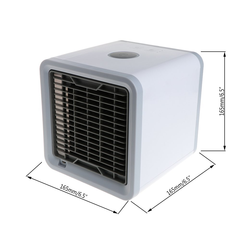 Autones Personal Air Conditioner, Air Personal Space Cooler with Humidifier and Air Purifier USB Mini Portable Air Conditioner by Autones (Image #7)