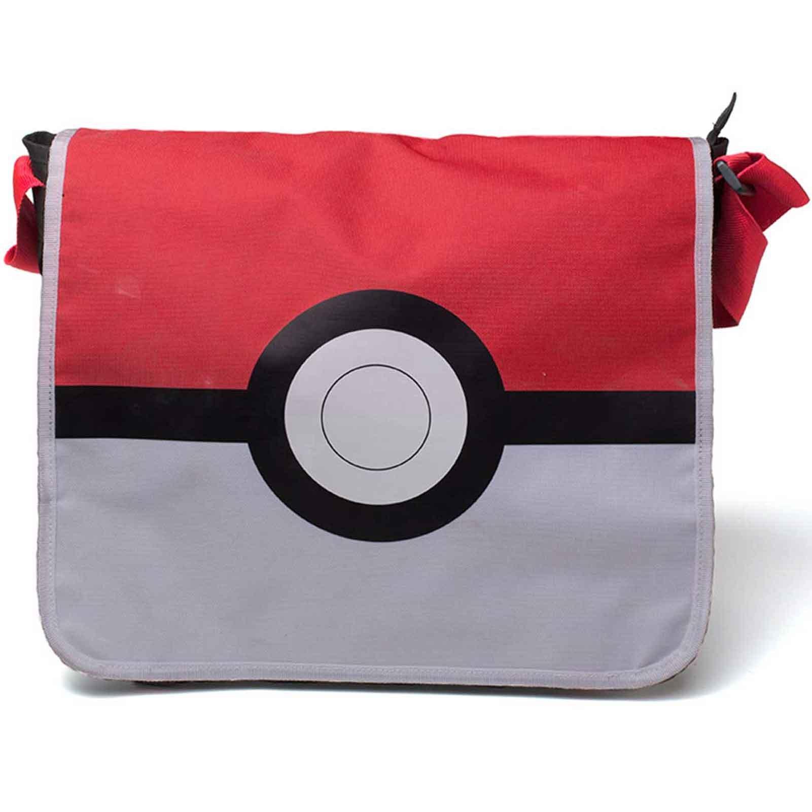 Pokemon Messenger Bag Pokeball Logo Official