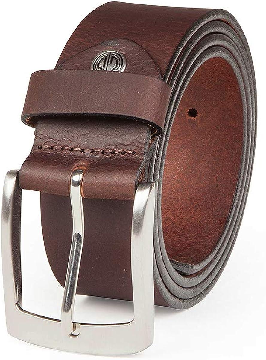 Lindenmann- cinturón de cuero hombre