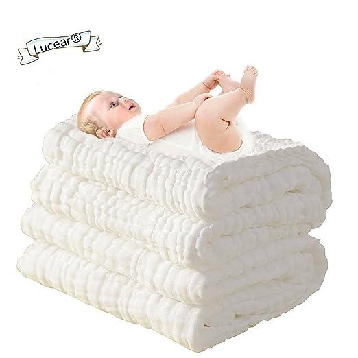 56 opinioni per Asciugamani Bimbo Baby Bath Towel, 100% Mussola Cotone, Bagnetto Toeletta
