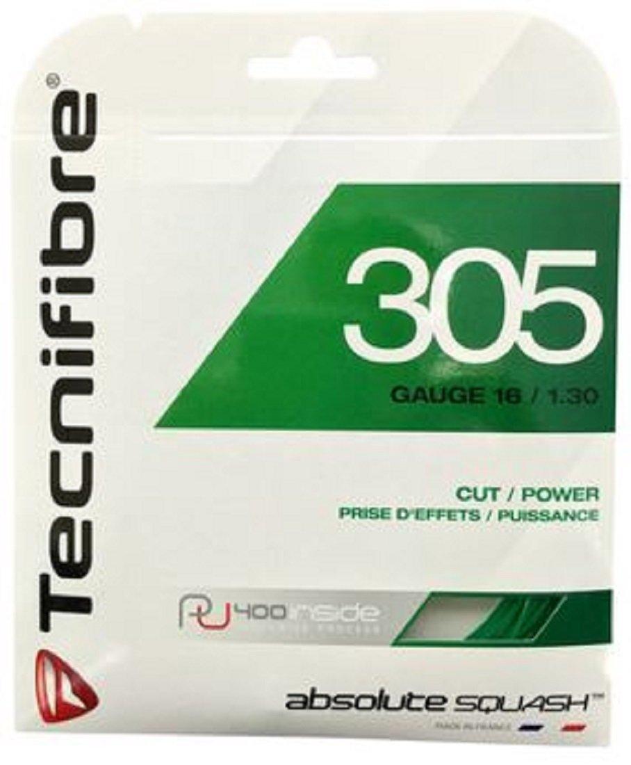 Tecnifibre 305 green Squash Cordaje set 9, 7 metros 1.30 mm / 16