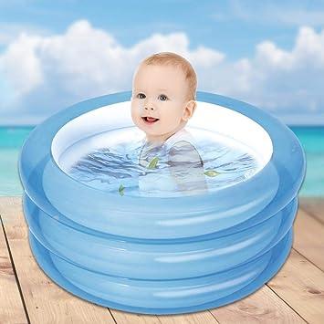 Amazon.com: Dissylove Piscina infantil hinchable de sandía ...