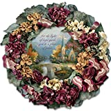 Collectible Thomas Kinkade Chapel Inspirations Wreath by The Bradford Exchange
