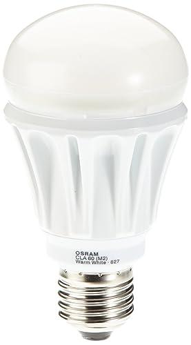 Osram 903715 - Bombilla LED, E27, luz blanca cálida, intensidad regulable, forma
