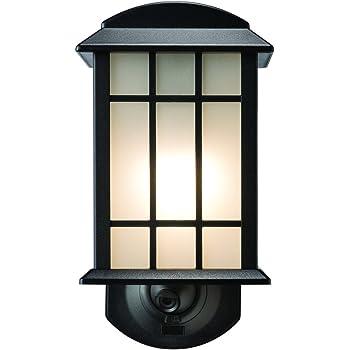 Amazon Com Maximus Craftsman Smart Security Light Black