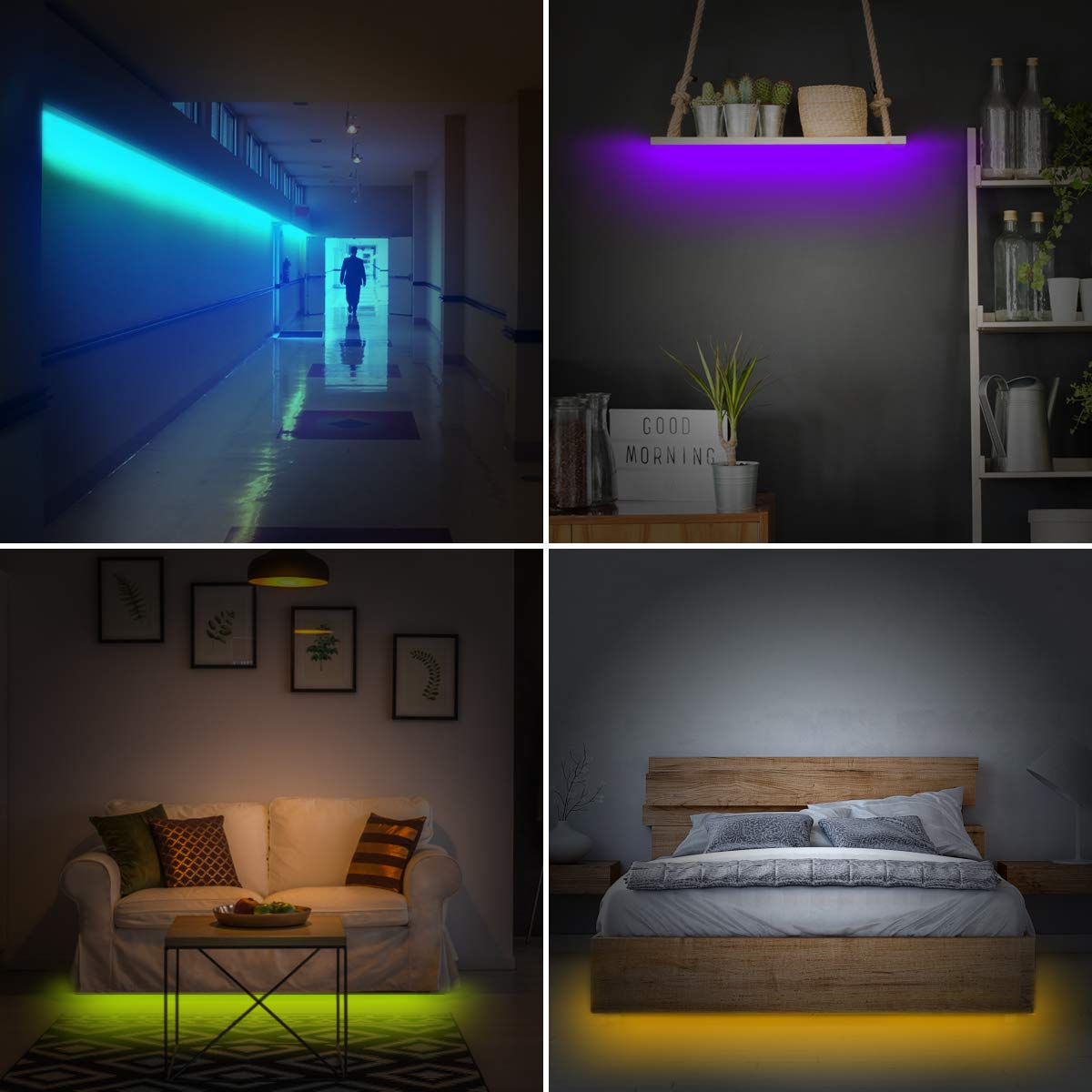 led band decke gallery of led streifen einzigartig leisten mit led led leisten led lichtleiste. Black Bedroom Furniture Sets. Home Design Ideas