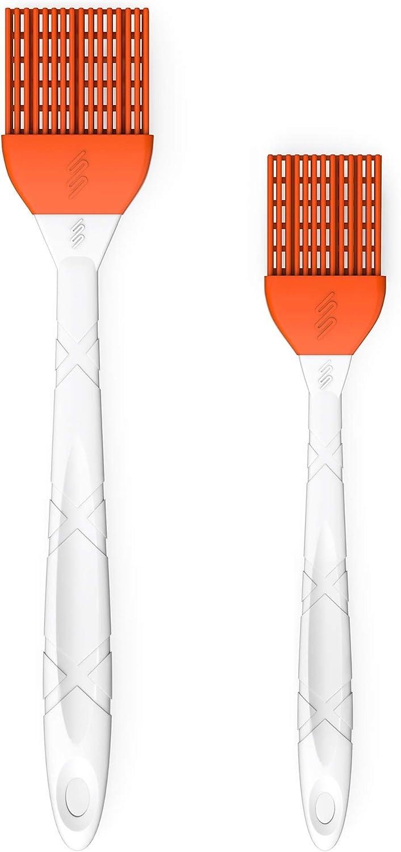 Silicone baking cooking BBQ basting Brush Multipurpose kitchen utensil toolLZ