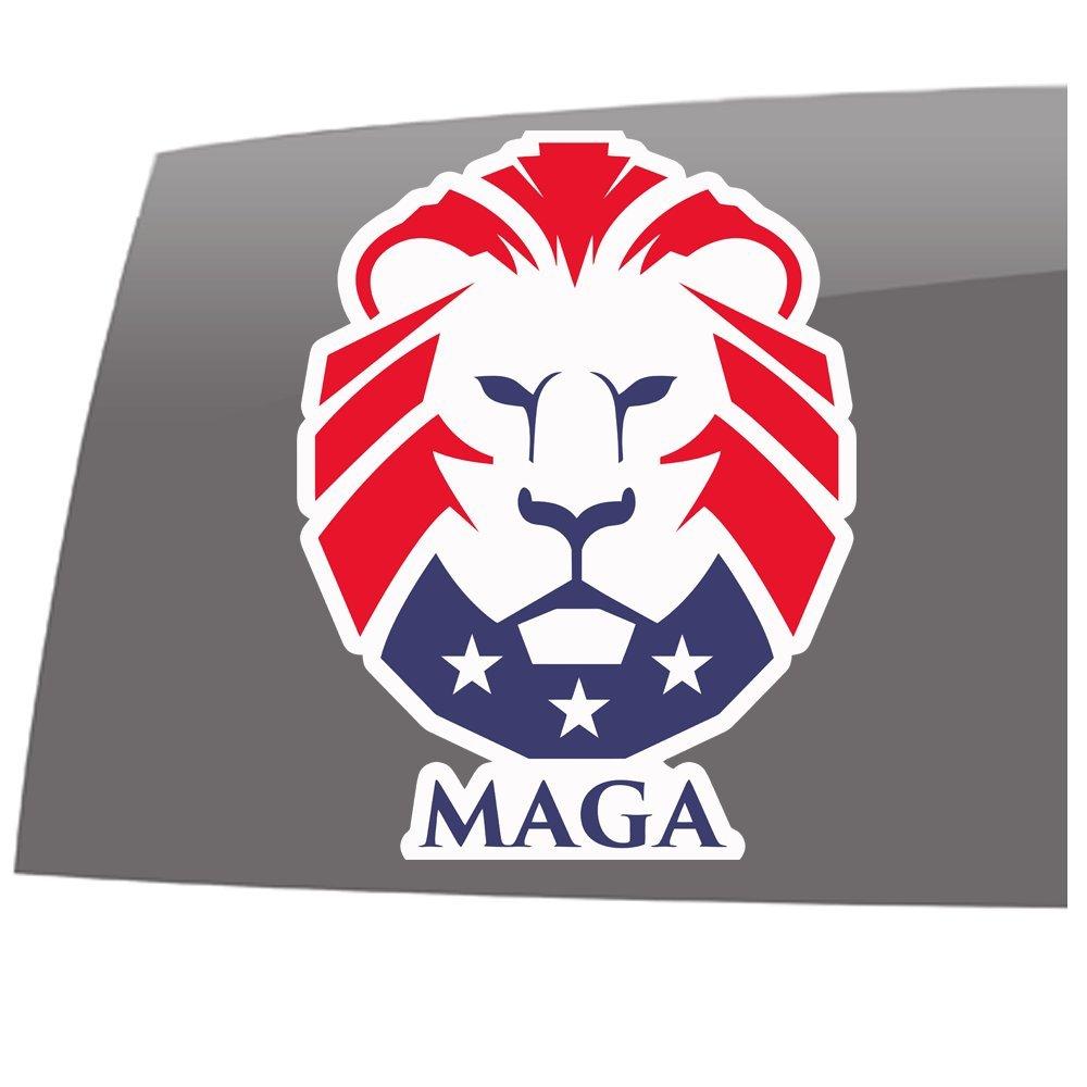 Amazon com window swag maga make america great again color decal political pro trump vinyl sticker automotive