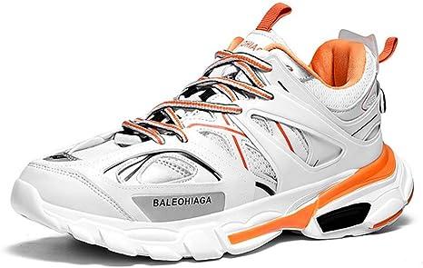GHFJDO Zapatos de Running para Hombre Zapatillas Deportivas al ...