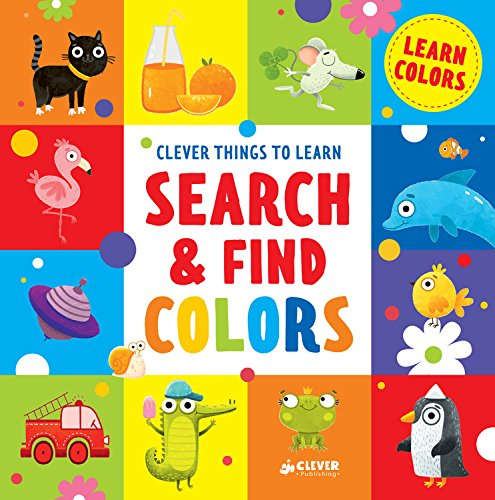 Search & Find Colors: Learn Colors (Clever Things To ()