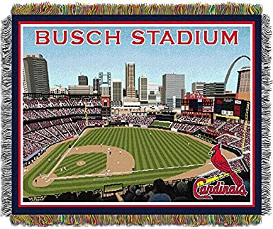 Amazon The Northwest Co MLB Stadium Woven Tapestry Throw St Delectable St Louis Cardinals Throw Blanket