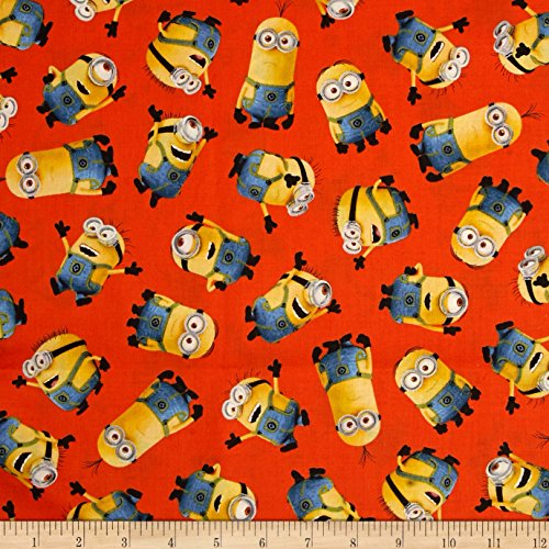 Fabric & Fabric Fabrics Universal Despicable Me 1 Tossed Minions, -