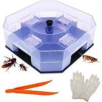 BITEYI Trampa de Cucarachas Ecológico Reutilizable y no