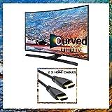 UN65JU670D FXZA 4K UHD JU670D Series Curved Smart TV - 65 inch Class un65ju670d Bundle