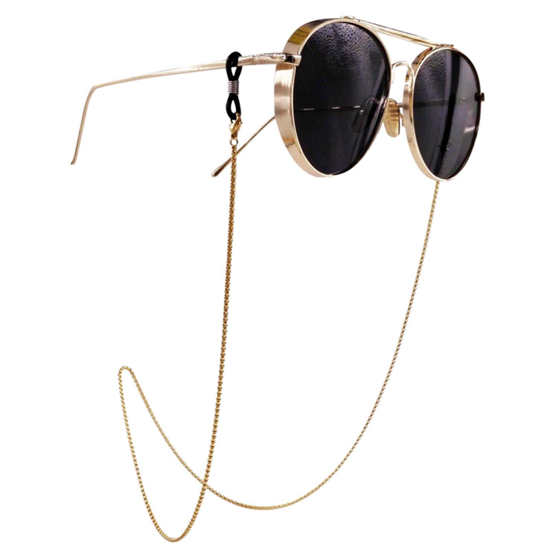 Eyeglass Chain - Kalevel Stainless Steel Sunglass Strap Eyeglass Strap Holder KECS16101301