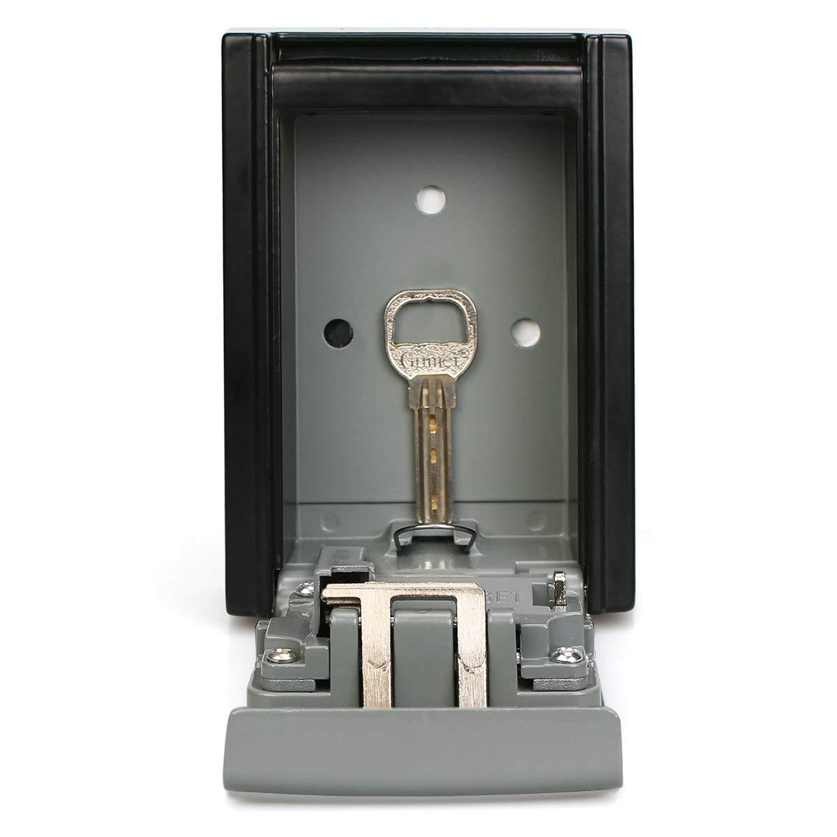 Retekess T14A Key Aufbewahrungsbox Key Safe Lock Box Aluminiumlegierung Vierstelliges Passwort mit Abdeckung f/ür Dekoration Wohnung Wasserkraft Instandhaltung Fabrikbau Wohnung B /& B