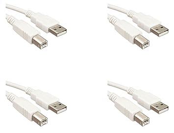 Storite (paquete de 4) (1,2 m - 120 cm 4 pies) USB 2.0 cable ...