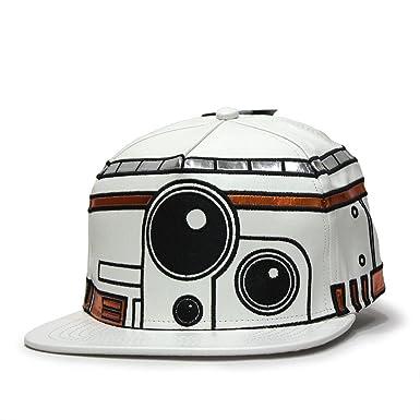 buy popular 7825c b848d Star Wars Episode 7 BB8 Bigface Flat Brim Snapback Baseball Cap (BB8)