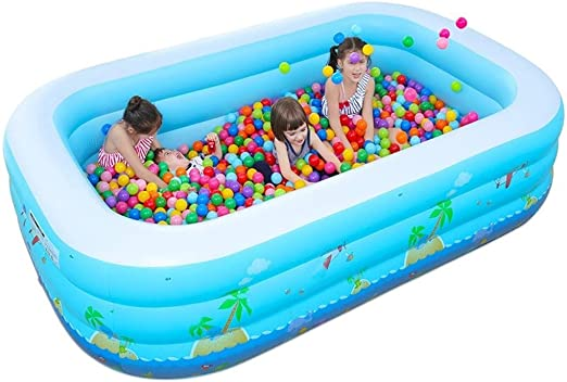HUUQ HRQ Bañera Inflable for niños Plegable Antideslizante Grueso ...