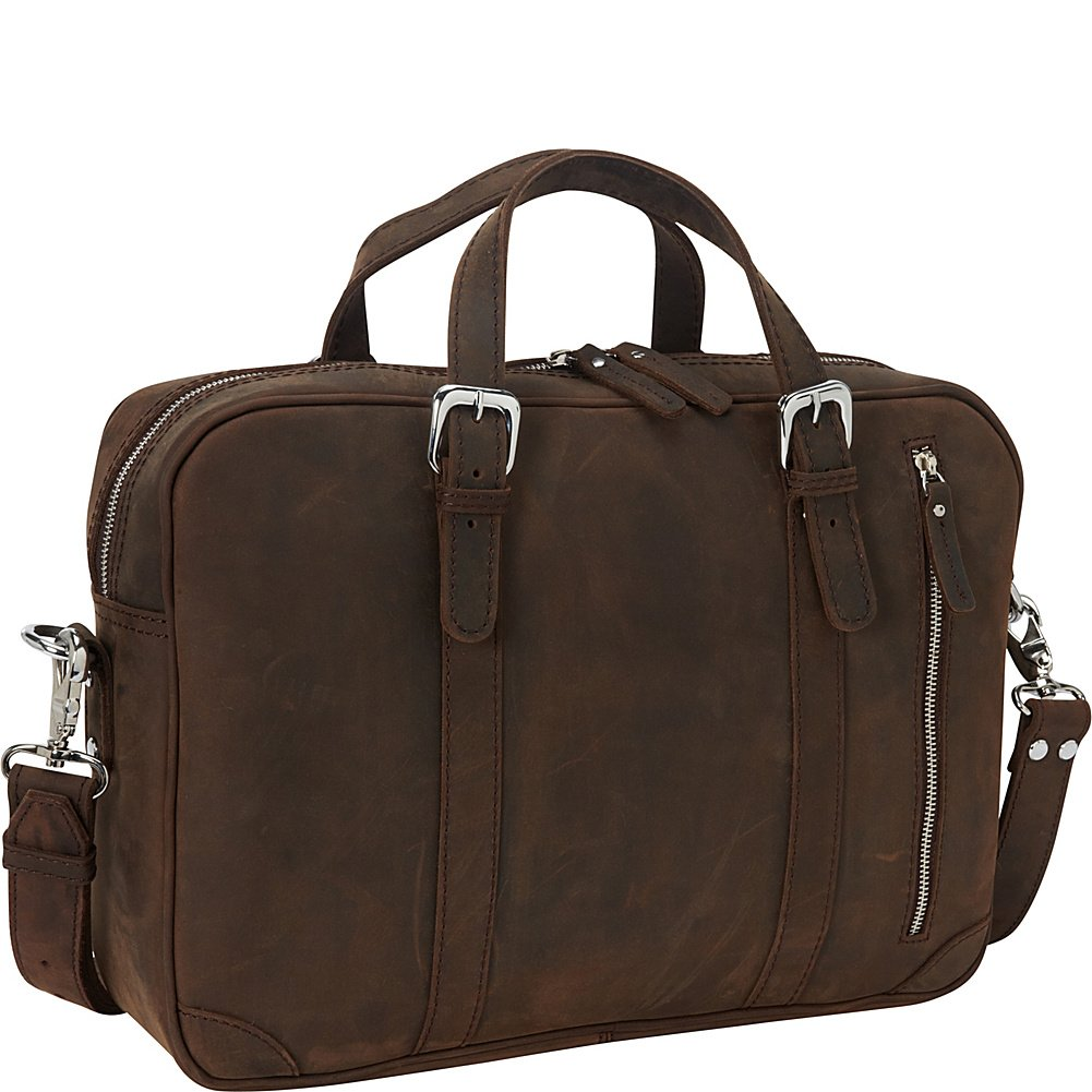 Vagabond Traveler 16.5'' Fine Leather Casual Laptop Bag (Vintage Distress)