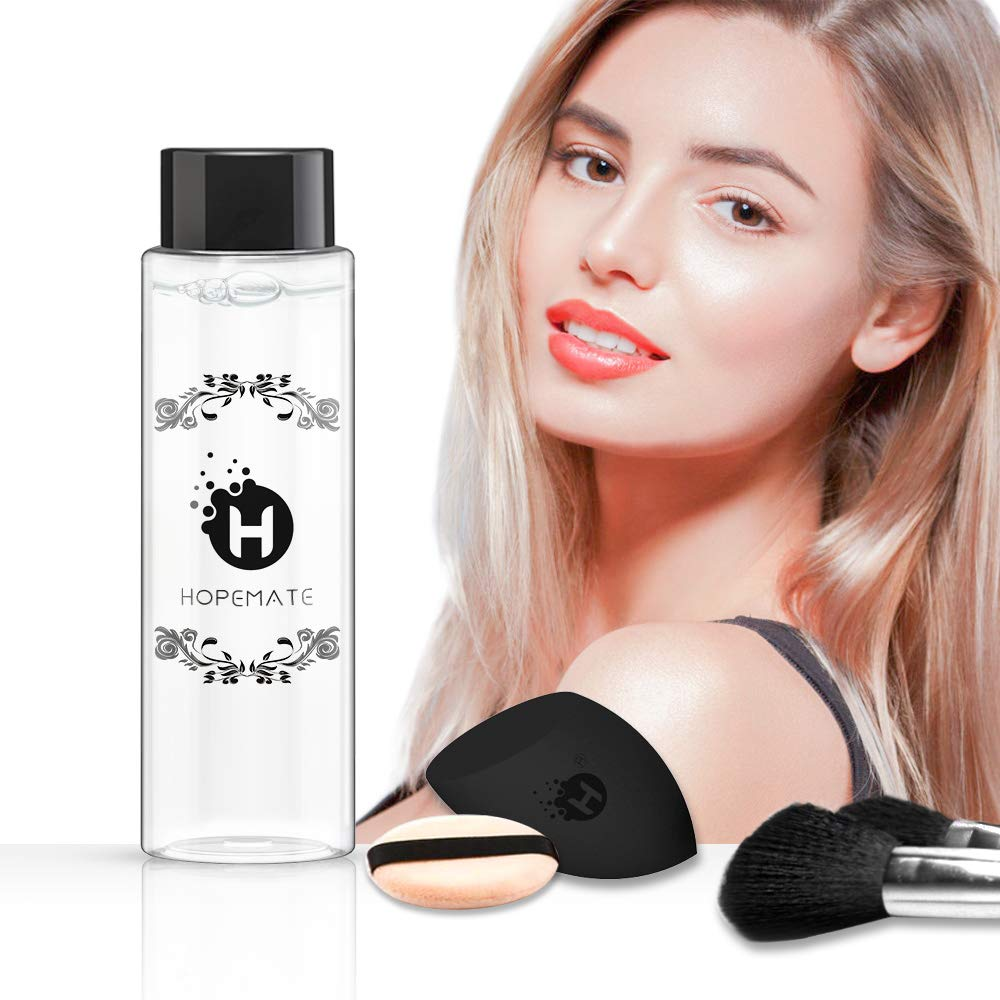 f6a9bef44e9b HOPEMATE Makeup Brush Cleaner Solution, Cruelty Free Beauty Sponge Puff  Cleanser, Instantly...