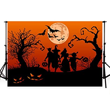 WaW 10x6.5ft(3x2m) fondo de la fotografía de la fiesta de halloween