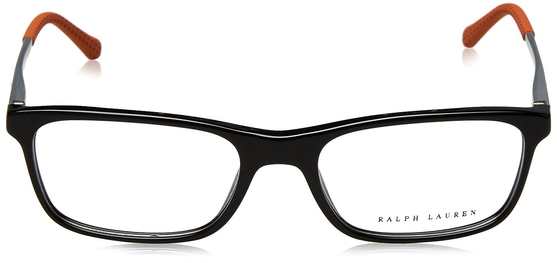 88acd187fd Amazon.com  Ralph Lauren RL6134 Eyeglass Frames 5001-53 - Black RL6134-5001- 53  Clothing