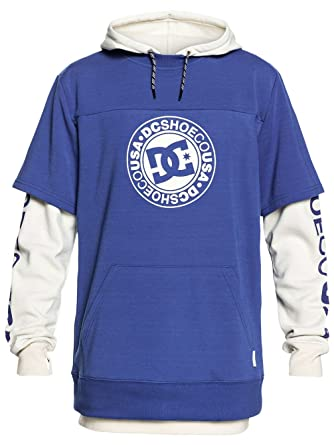 6a91e38c71 Amazon.com: DC Neutral Grey Heather Dryden Snowboarding Hoody: Clothing