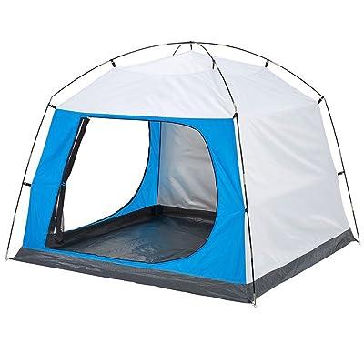 QFFL zhangpeng Tente Sunscreen Family Camping Camping Tente 3-4 Tentes de pique-nique à l'extérieur tente de cervelet