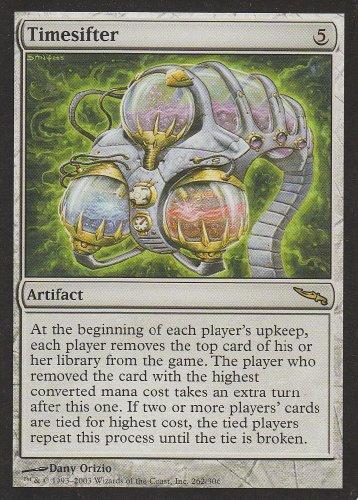 Timesifter (Magic the Gathering : Mirrodin #262 Rare)