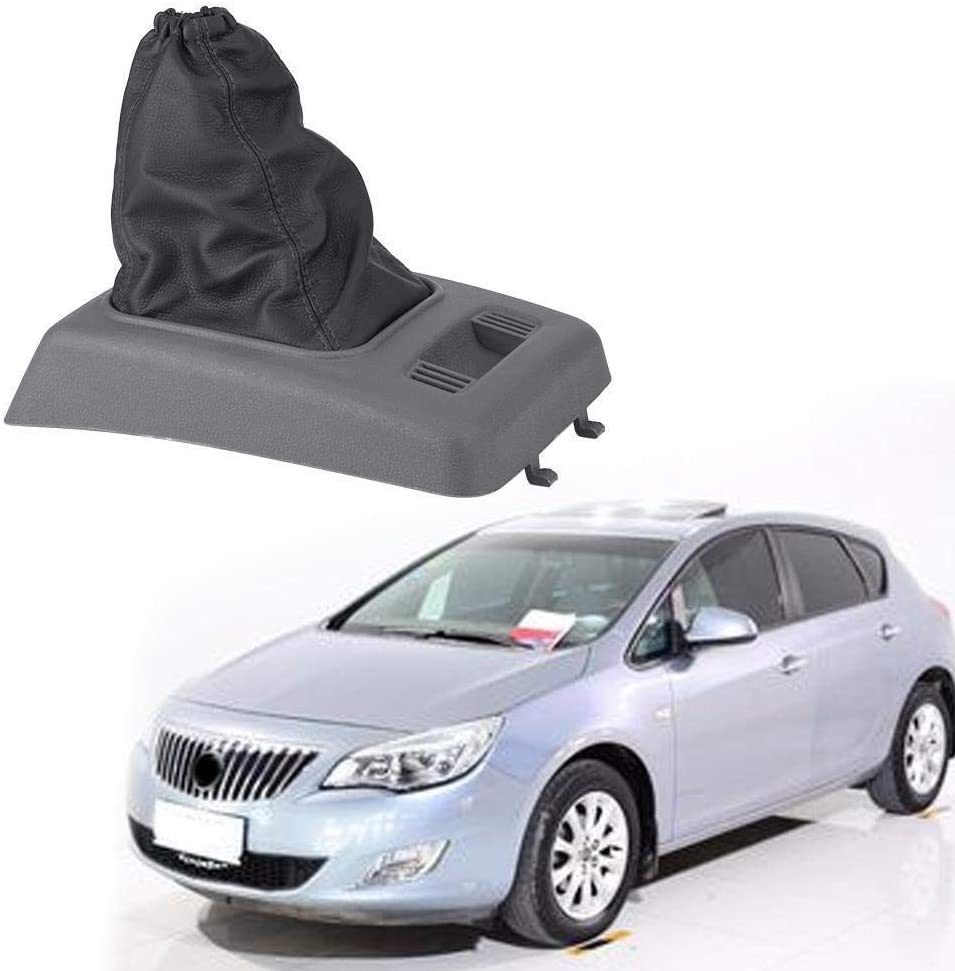 Heitune Car Gear Shift Knob Boot Dust Cover Gear Gaiter Compatible With Compatible Withd Transit Connect 2006-2012