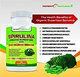 Organic Spirulina Vegetable Capsules/Pills by