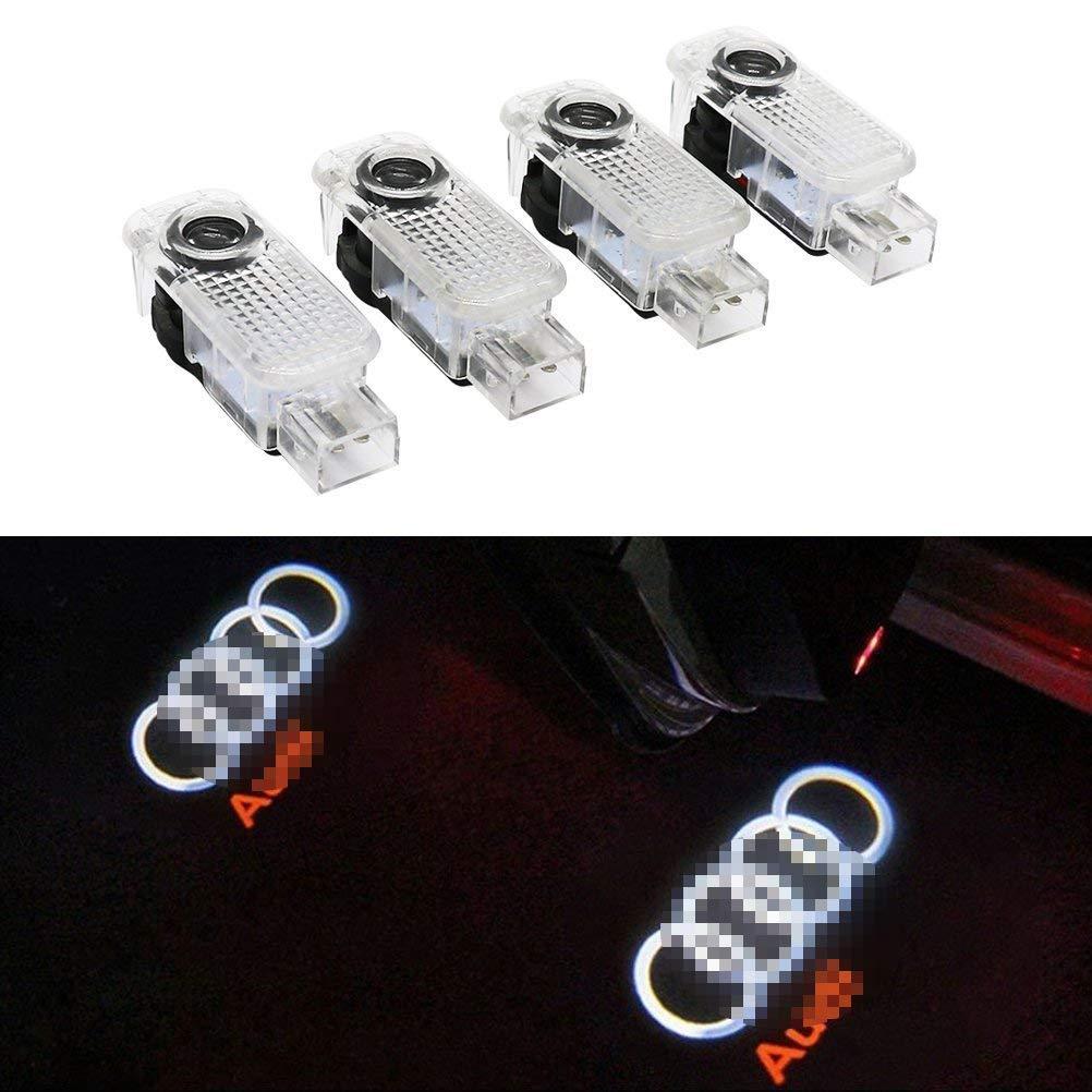 Cool Design Proiettore Led per Porta Auto Porta di auto LED Illuminazione entrata Laser Proiettore Cortesia Benvenuto lampada ombra logo luce
