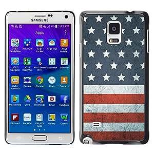 Dragon Case - FOR Samsung Galaxy Note 4 - right here waiting - Caja protectora de pl??stico duro de la cubierta Dise?¡Ào Slim Fit