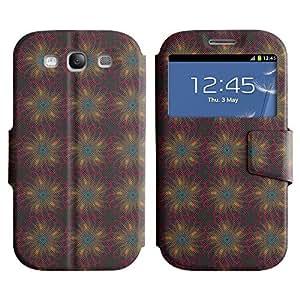 LEOCASE flor linda Funda Carcasa Cuero Tapa Case Para Samsung Galaxy S3 I9300 No.1006148