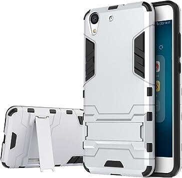 bdeals Huawei Y6 II/Honor 5A Funda 2in1 Duro PC + Suave TPU High ...