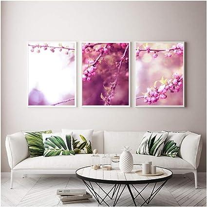 Moderne Home Decor Bloem Canvas Schilderijen Voor Woonkamer Sofa Wall Art Pictures Voor Woonkamer Nordic Decoration 50x70cm Geen Frame Amazon Nl