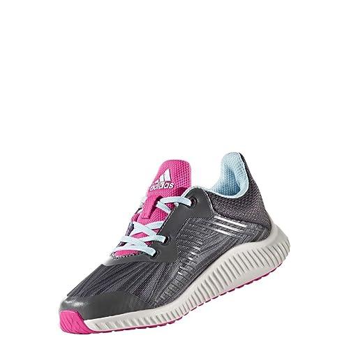 low priced 86c53 fcbd6 adidas Fortarun K, Chaussures de Fitness Mixte Enfant,  Multicolore-GrisBleu (